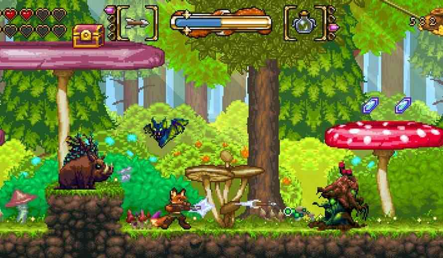 Fox N Forests Review - Super NES Synthesis