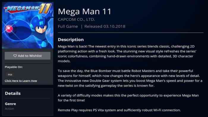 Mega Man 11 Gets New Trailer, Release Date