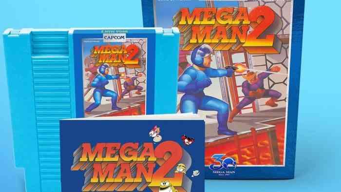 Mega Man 30th Anniversary Cartridges