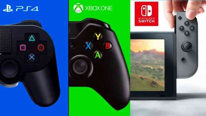ps4 vs xbox one vs switch
