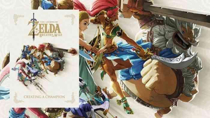 The Legend of Zelda: Breath of the Wild art book