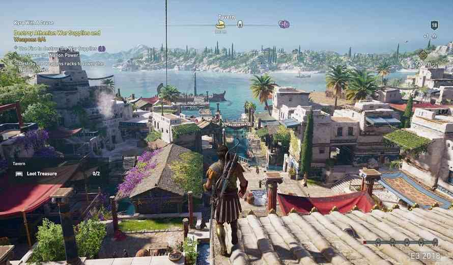 The Enormous World Map for Assassin's Creed Odyssey Has Been Revealed