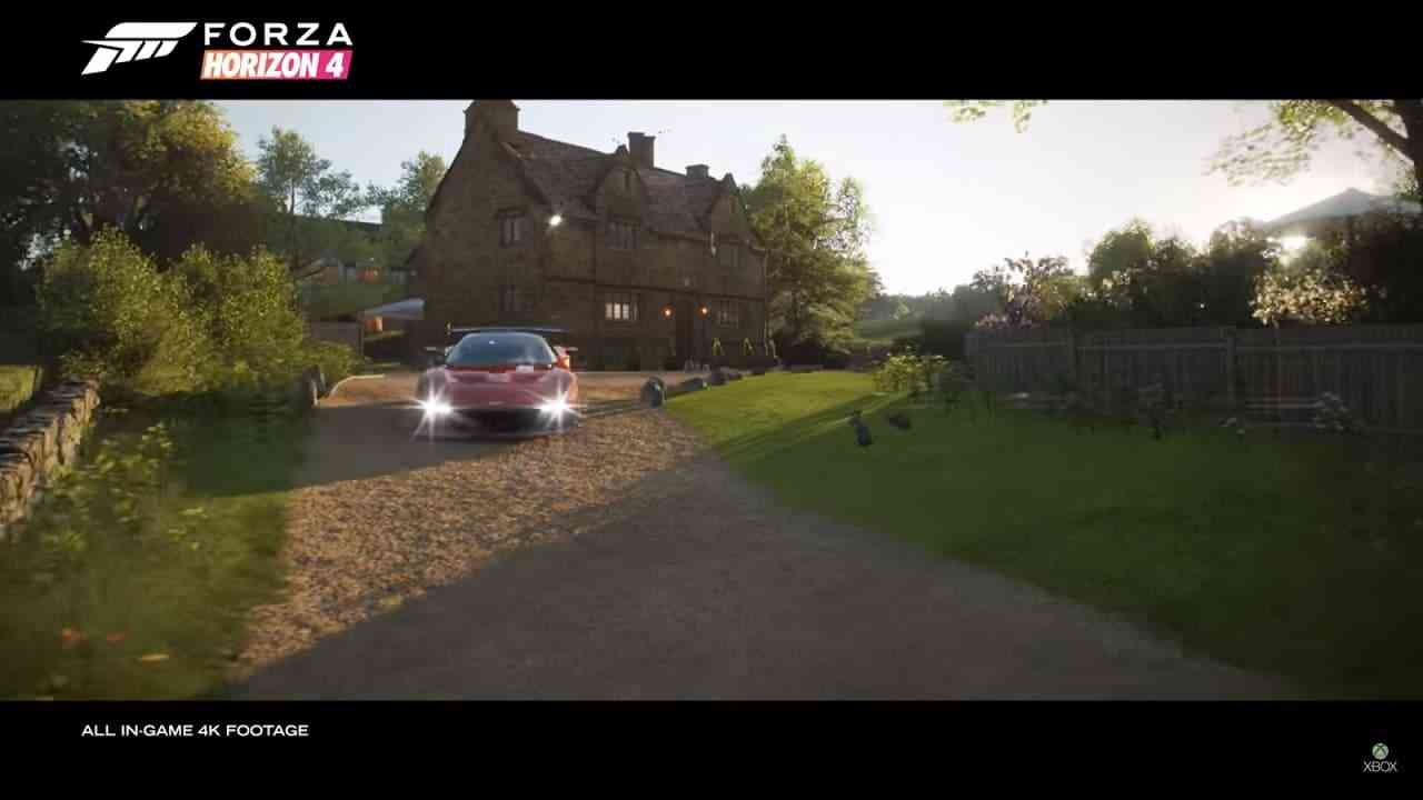 forza horizon 4 goes co op and is coming this october. Black Bedroom Furniture Sets. Home Design Ideas