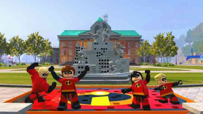 Lego Incredibles 2