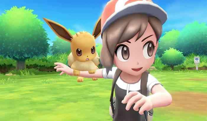 Pokemon Let's Go core pokemon eevee