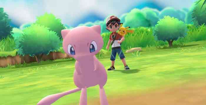 Pokemon Pokeball Let's Go Mew