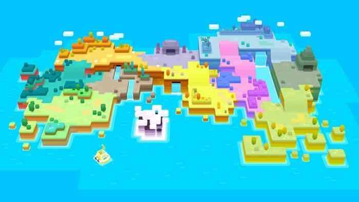 Pokemon Quest Island