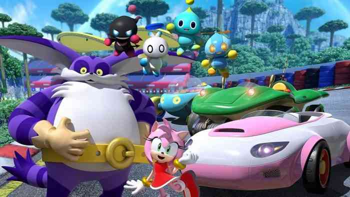 Team Sonic Racing New Characters