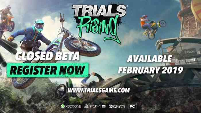 Trials Rising Announced for February 2019, Closed Beta Sign Ups Open Soon