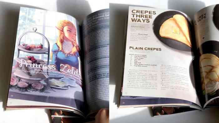The Legend of Zelda: Breath of the Wild cookbook