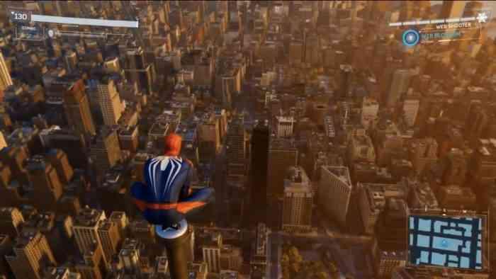 spider-man world map
