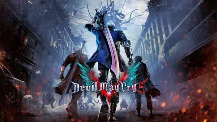 Devil May Cry 5 Key Art