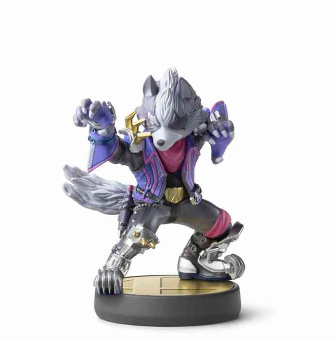 Wolf Amiibo Smash Bros