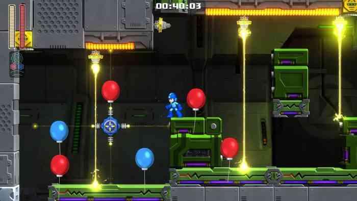 Mega Man Balloon Mode