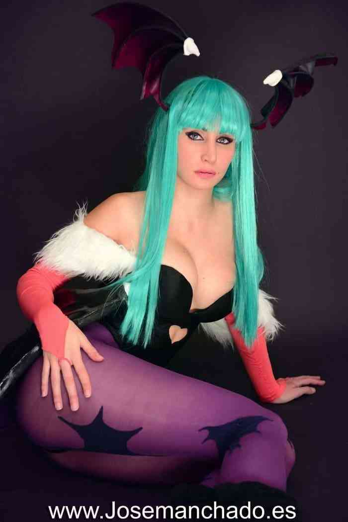 Morgana From Spain's Jaw-Dropping Cosplay and Body Paint