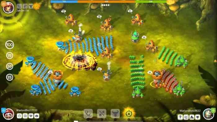 Mushroom Wars 2 Switch