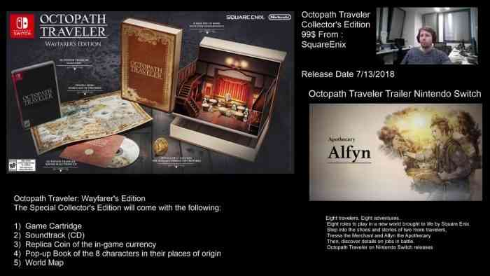 Octopath Traveler: Wayfarer's Edition