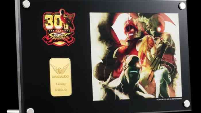 Street Fighter Gold Bars