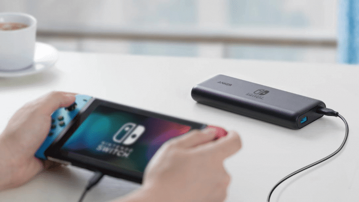 Switch Anker portable chargers