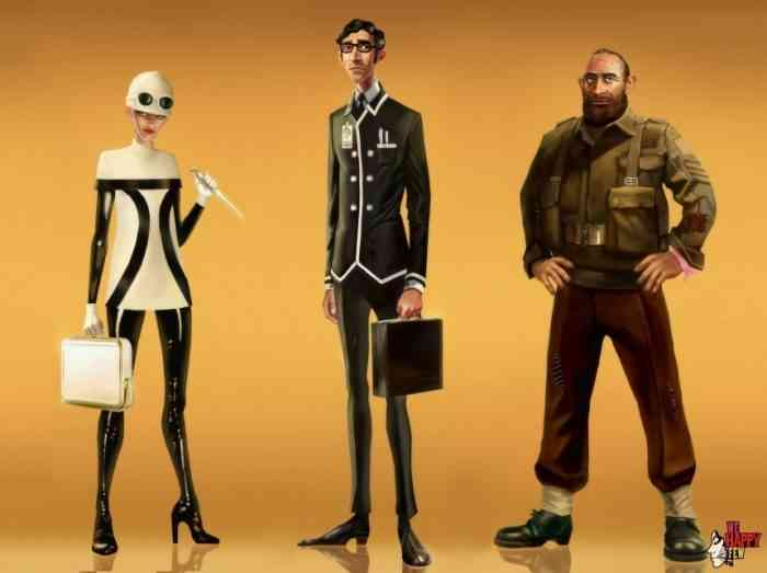 We Happy Few Characters