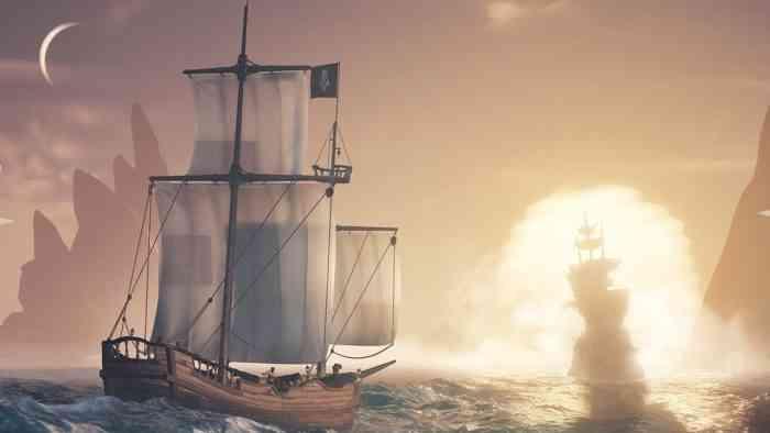 Sea of Thieves Brigantine Cursed Sails