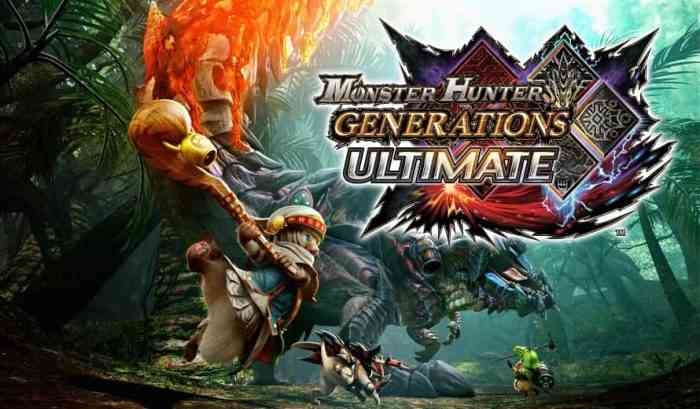 Monster Hunter Generations Ultimate Featured