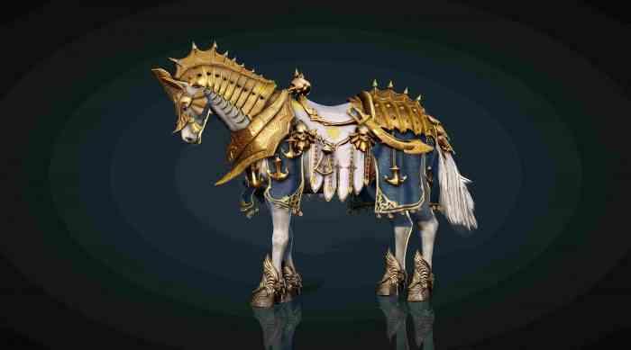 Black Desert Online Remaster Horse