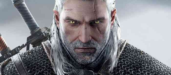 Characters with Beards - Geralt of Riveria - Witcher Series-min