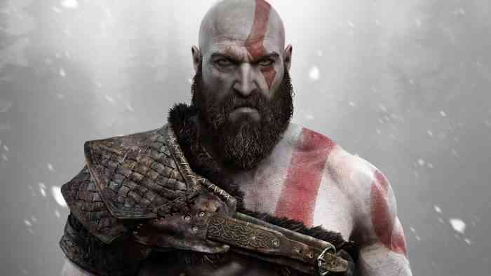 Characters with Beards - Kratos - God of War-min