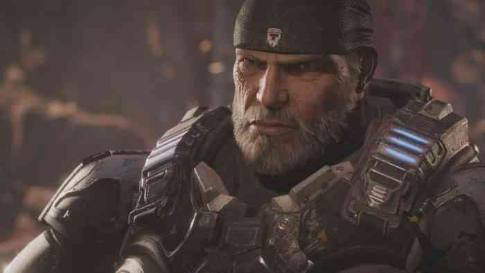 Characters with Beards - Marcus Fenix - Gears of War-min