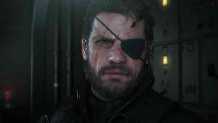 Characters with Beards - Solid Snake - Metal Gear Solid-min