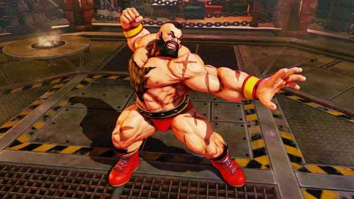 Characters with Beards - Zangief - Street Fighter --min