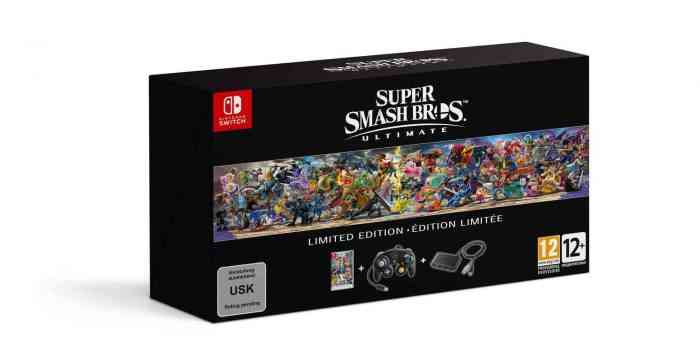 Super Smash Bros Ultimate Collector's Edition Nintendo