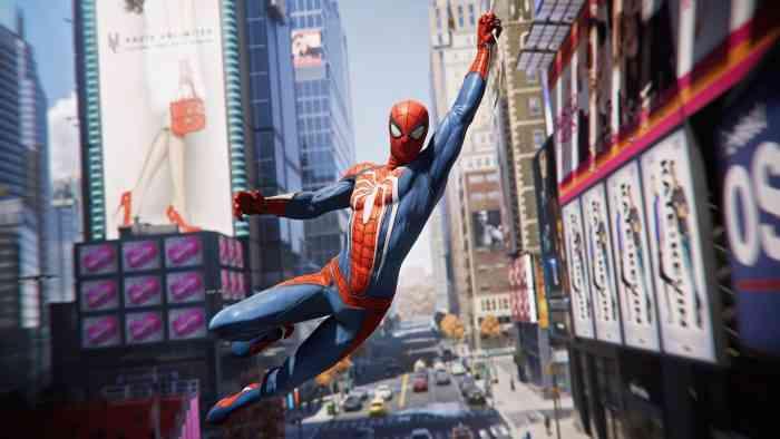 spider-man hero swing