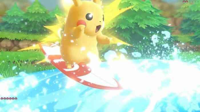 Pokemon Let's Go Pikachu Eevee Switch