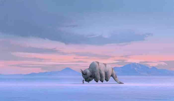 Avatar The Last Airbender Appa Aang
