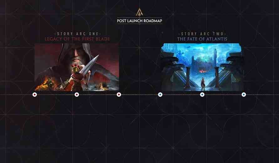 Assassin S Creed Odyssey Post Launch Dlc And Ac 3 Remaster Confirmed