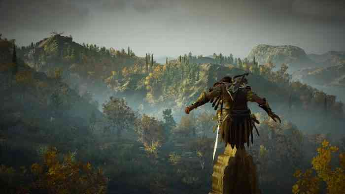 Assassin's Creed Odyssey perch
