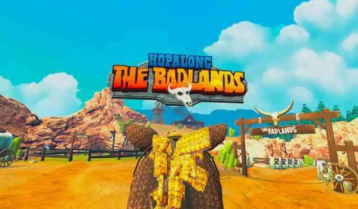 Hopalong The Badlands