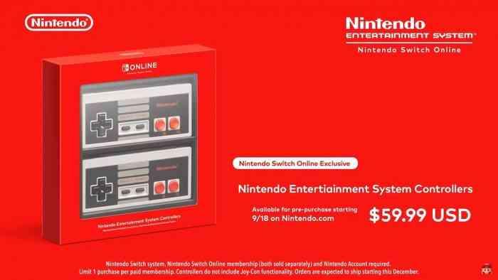 Nintendo Switch Online NES Controllers