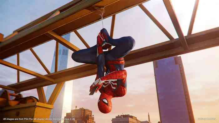 Insomniac Game's Spider-Man