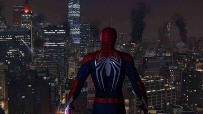 Spider-Man PS4 City