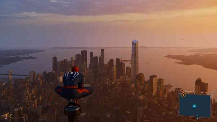 Spider-Man PS4 View
