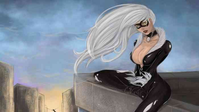 black cat marvel insomniac