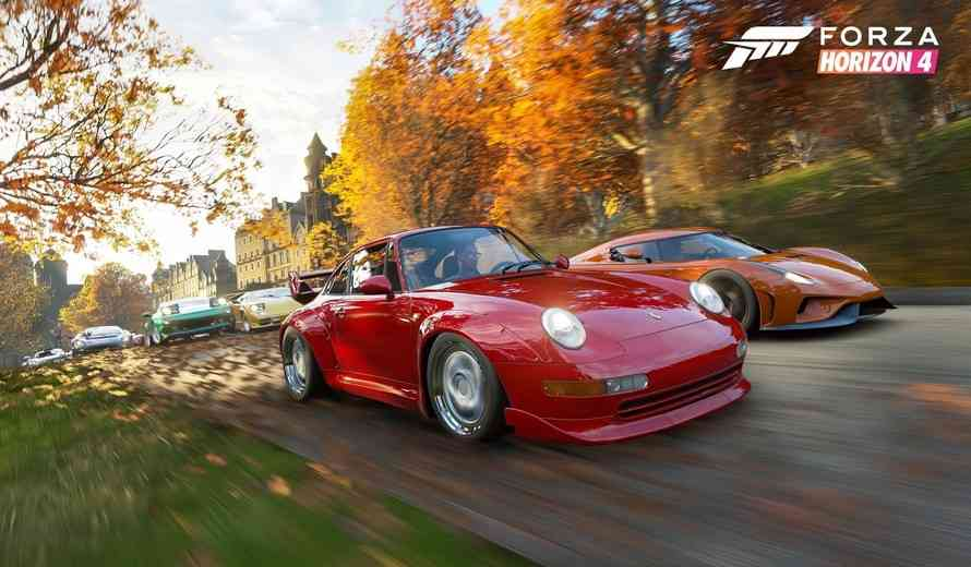 Forza Horizon 4 S Car List Features More Than 400 Vehicles