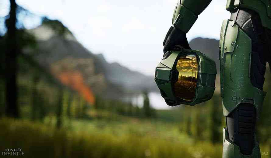 Photo from the Halo TV Show Features Master Chief's Helmet