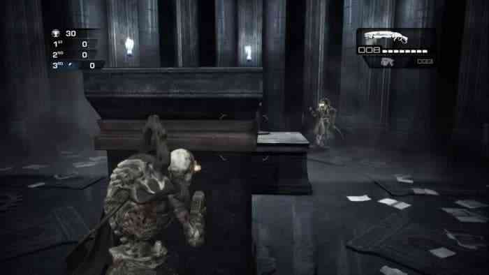 Gears of War Judgment - Library Easter Egg - Ghost Reaper-min