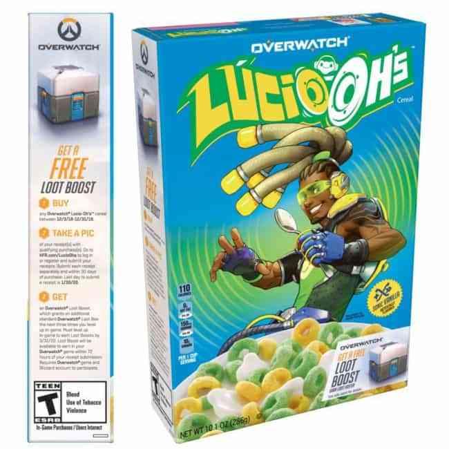 Overwatch Cereal Lucio