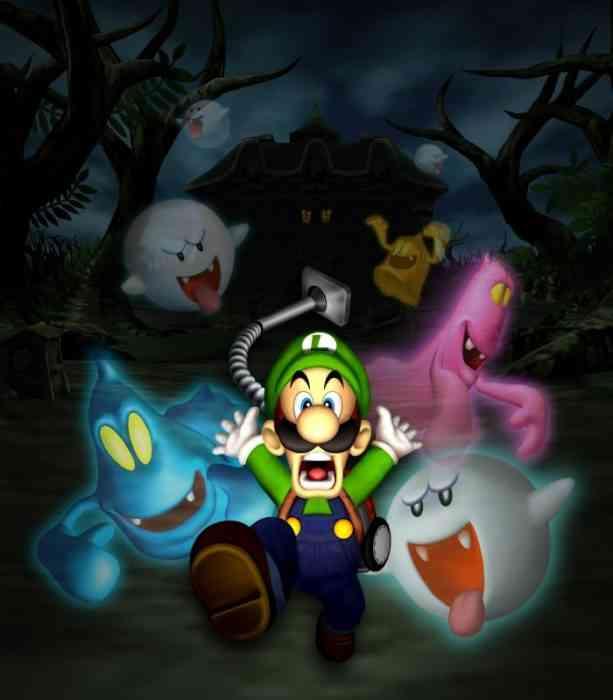 Luigi's Mansion Ghosts - Ghosts-min