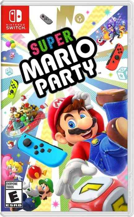 Super Mario Party - Switch Review - Cover